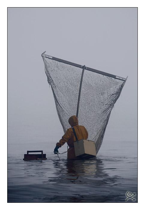 Pêche au haveneau