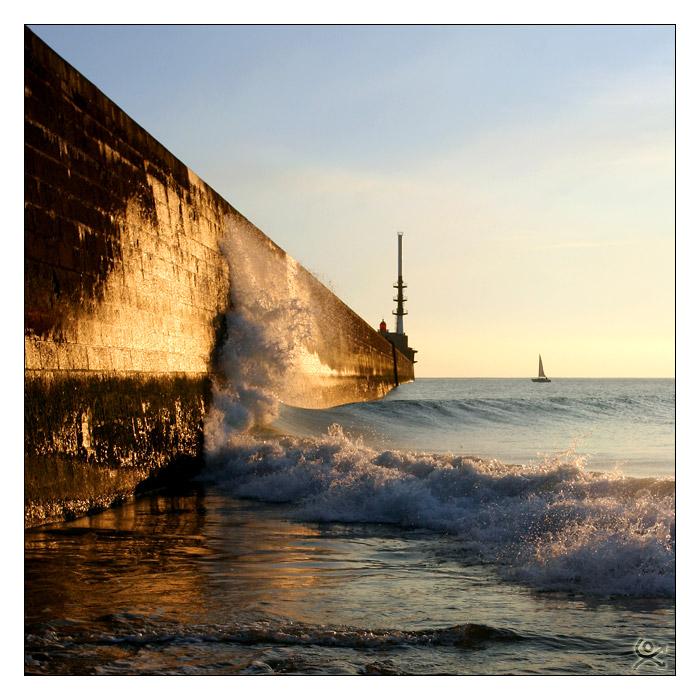 Passer la vague