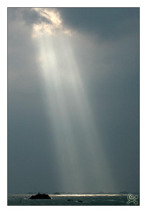 Quand le soleil l´effleure